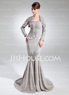 Long Sleeve Chiffon Special Occasion Wrap (013015806) - JJsHouse