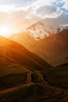 Mountains of Kazbegi