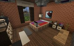 Large Suburban House minecraft building amazing idea download 13