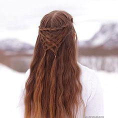 Pretty Hairstyles, Braided Hairstyles, Wedding Hairstyles, Amazing Hairstyles, Hairstyle Braid, Medieval Hairstyles, Fantasy Hairstyles, Viking Hair, Viking Braids