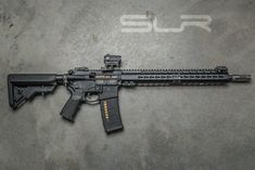[OC] First look at the all new SLR Rifleworks ION handguard with 45 degree keymod (MLOK will be available shortly)