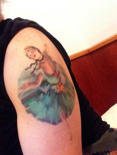 The Best Art Tattoos of All Time -- Degas