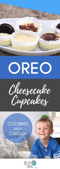 Oreo Bottom Cheesecake Cupcakes!