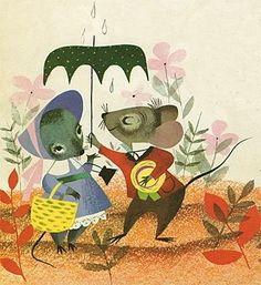 country mouse and city mouse // mary blair