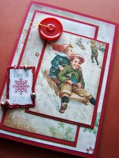Dashing+Through+the+Snow++Sledding+Holiday+by+BennBooCreations,+$5.85
