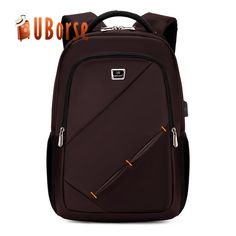 96e7c9cd99fa Laptop Backpack External USB Charge Computer Backpacks Male Female  Waterproof Bags Business Travel Backpack Wholesale