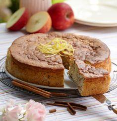 De kogte kartofler gør kagen dejlig saftig og svampet- se opskriften her