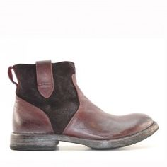 Moma low boot bordeaux