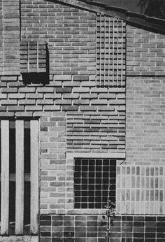 Brick facade, Alvar Aalto