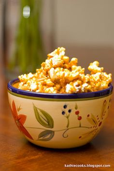 Sweet and Salty Butterscotch Candied Popcorn