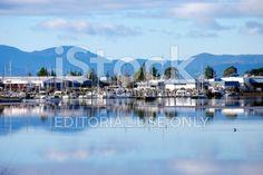 Motueka Marina, Tasman Region, New Zealand royalty-free stock photo