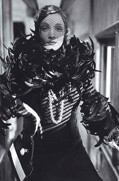 Marlene Dietrich in Shanghai Express, 1932.