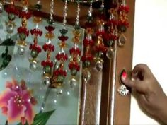 ▶ How to make a kundan motif to decorate the pooja room - YouTube