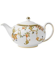 Wedgwood Dinnerware, Oberon Teapot - - Macys