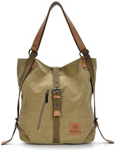 Women Men Canvas Handbags Multifunction Backpack Casual Shoulder Bags  Students School Bags – Best Clothing for women 83a32aa2769a9