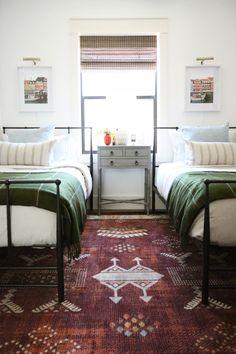 Evergreen House: The Kid's Bedroom - Juniper Home Home Decor Bedroom, Kids Bedroom, Bedroom Ideas, Evergreen House, Living Room Built Ins, Up House, Beautiful Living Rooms, Guest Bedrooms, Big Boy Bedrooms