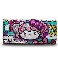 256408817197 Hello Kitty Japanimation Wallet - Hello Kitty - Brands I want it so bad!