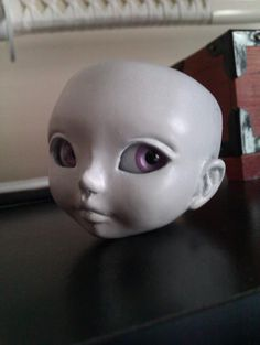 WIP my first tiny complete doll.  #bjd #doll #dollfie #knk #kennokokoro #handmade #homemade