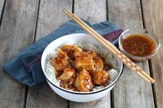 Poulet caramelisé à la sauce piquante sriracha - 11 photos