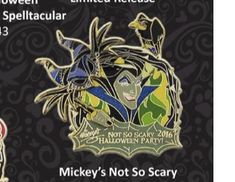 Disneyland Pins, Disney Pins, Walt Disney, Scary, Om, Fictional Characters, Im Scared, Fantasy Characters, Macabre