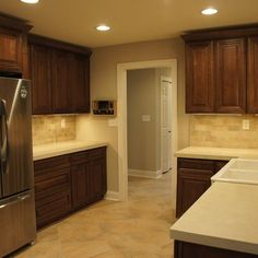 Kitchen Photos Chocolate Cabinets Design, Pictures, Remodel, Decor and Ideas - page 10