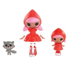 Mini Littles Sisters Dolls -  Scarlet Riding Hood and Cape Riding Hood
