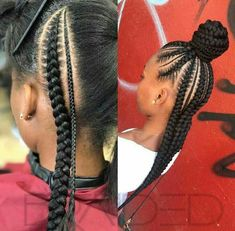 Stunning Black Girls Hairstyles Ideas in 2019 87 Stunning Black Girls Hairstyles Ideas in Creative hairstyles for African-American girls and women. Plenty of natural doses knits and corn fields for a great source of inspiration! Little Girl Braids, Black Girl Braids, Braids For Kids, Braids For Black Hair, Girls Braids, Little Girl Braid Styles, Kids Braided Hairstyles, African Braids Hairstyles, Little Girl Hairstyles