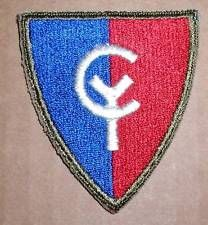 WW2 ERA THIRTY-EIGHTH (38th) DIVISION INSIGNIA PATCH