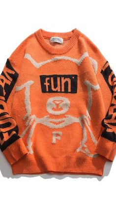Crew Neck Sweatshirt, Graphic Sweatshirt, Sweater Refashion, Christmas Sweaters, Sweaters For Women, Unisex, Knitting, Sweatshirts, Tricot