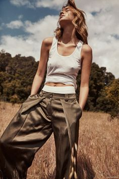 Gabby Brooks FGR Exclusive, photographed by Trever Hoehne : fashion editorial fashion photography