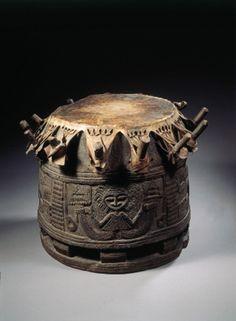 Yoruba drum for Ifa | Nigeria
