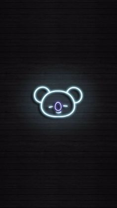 Image shared by yaen. Find images and videos about cute, kpop and bts on We Heart It - the app to get lost in what you love. Neon Wallpaper, Black Wallpaper, Bts Wallpaper, Bts Backgrounds, Bts Chibi, Pixel, Bts Lockscreen, Bts Pictures, Neon Lighting
