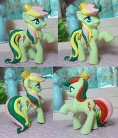 My Little pony custom G1 to G4 Mimic by SanadaOokmai.deviantart.com on @DeviantArt