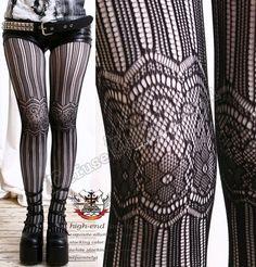 Steampunk Stockings.