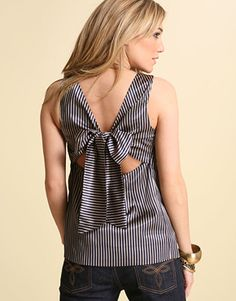 So cute! This shirts back is similar to the back of my JR year prom dress