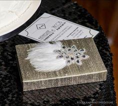 Art Deco Wedding Invitation & Stationery Suite