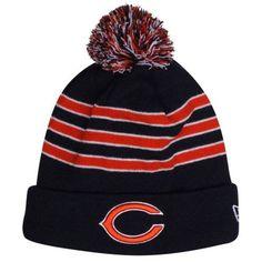 New Era Chicago Bears On-Field Player Sideline Sport Knit Hat