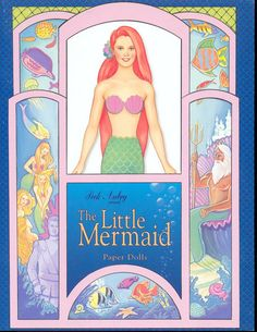 The Little Mermaid paper dolls by Peck Aubry - Nena bonecas de papel - Picasa Web Albums