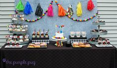 Party Printables | Party Ideas | Party Planning | Party Crafts | Party Recipes | BLOG Bird's Party: Real Parties: Mario Kart Mustache Mania ...