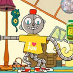 O robozinho que faz MILAGRE NO DEZENHO TITIO AVO.