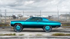 1972 Chevrolet Impala: Trill Teal - Rides Magazine