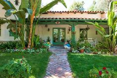 Annie Potts Puts Colorful Spanish-Style Ranch on Market