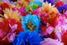 DIY: Mexican Tissue Paper Flowers