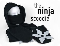 Freebie Friday! The Ninja Scoodie