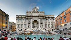 Trevi Fountain, Rome, most beautiful Fountain