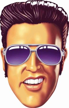 Elvis with glasses caricature FOLLOW THIS BOARD FOR GREAT CARICATURES OR ANY OF OUR OTHER CARICATURE BOARDS. WE HAVE A FEW SEPERATED BY THINGS LIKE ACTORS, MUSICIANS, POLITICS. SPORTS AND MORE...CHECK 'EM OUT!! Anthony Contorno Sr