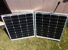 Build your own portable solar powered back up generator.