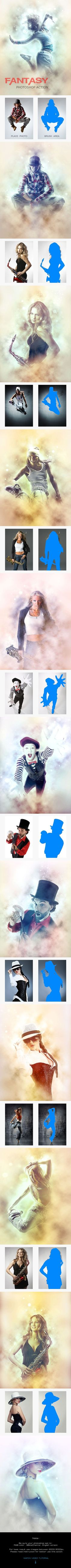 Fantasy - Photoshop Action #photoeffect Download: http://graphicriver.net/item/fantasy-photoshop-action/14104443?ref=ksioks