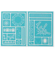 Martha Stewart Crafts™ Fair Isle Dots Adhesive Stencils