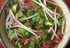 """Wild Duck Pho by Hank Shaw. """"Pho is typically made with beef broth, and duck's meaty, dark meat is an excellent substitute""""."""